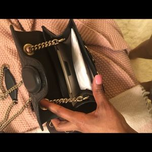 Gucci Bags - **LIMITED EDITION: Black Leather Gucci Crossbody**
